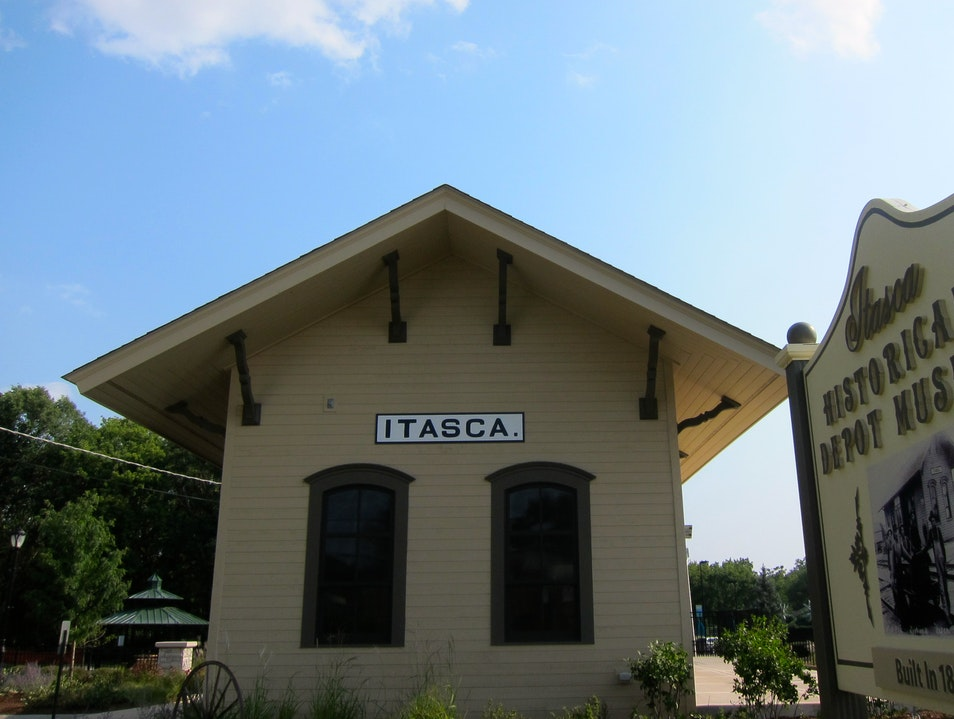 Train Depot Museum Itasca Illinois United States