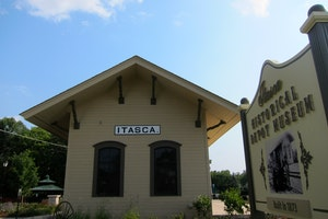 Itasca Historical Depot