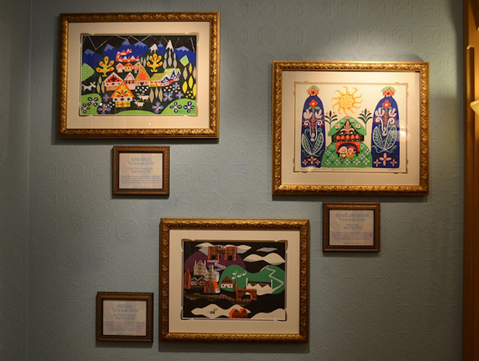 Gallery of Imagineering and other Disney Art