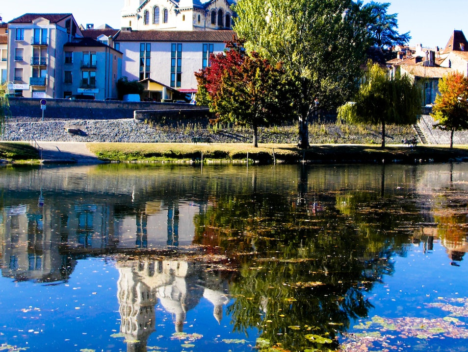 A Fall Day in the Aquitaine Region, France Périgueux  France