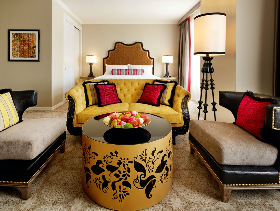 Colorful Rooms on Nob Hill San Francisco California United States