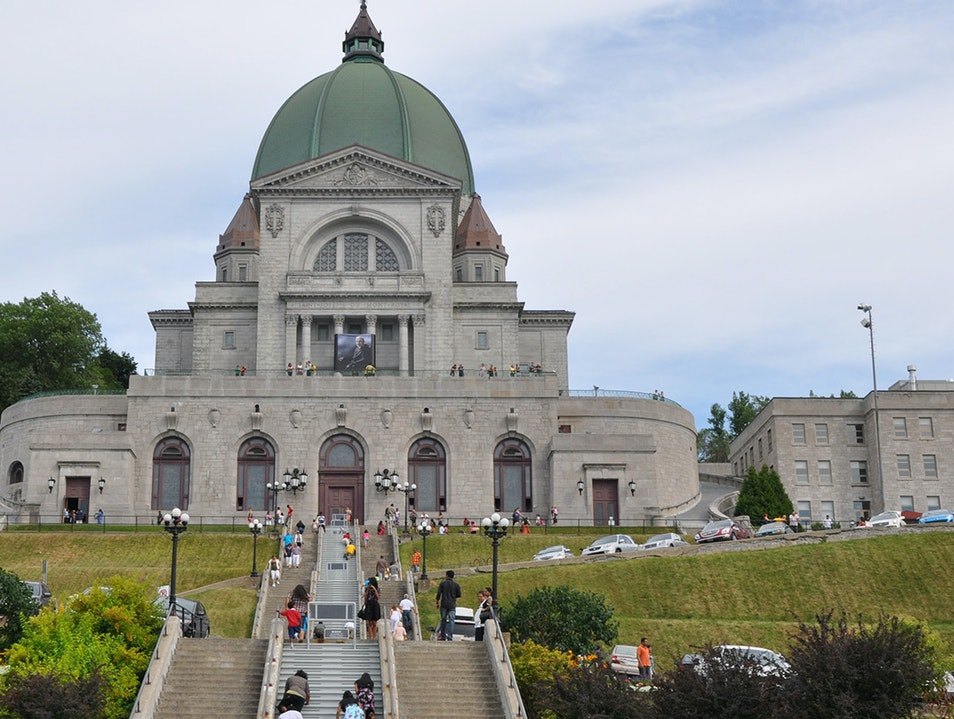 Saint Joseph's Oratory of Mount Royal Montreal  Canada