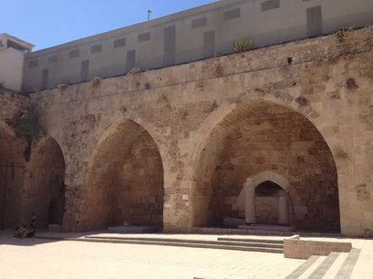 Crusader Vaults & Halls Acre  Israel