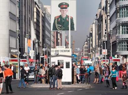 Checkpoint Charlie Berlin  Germany