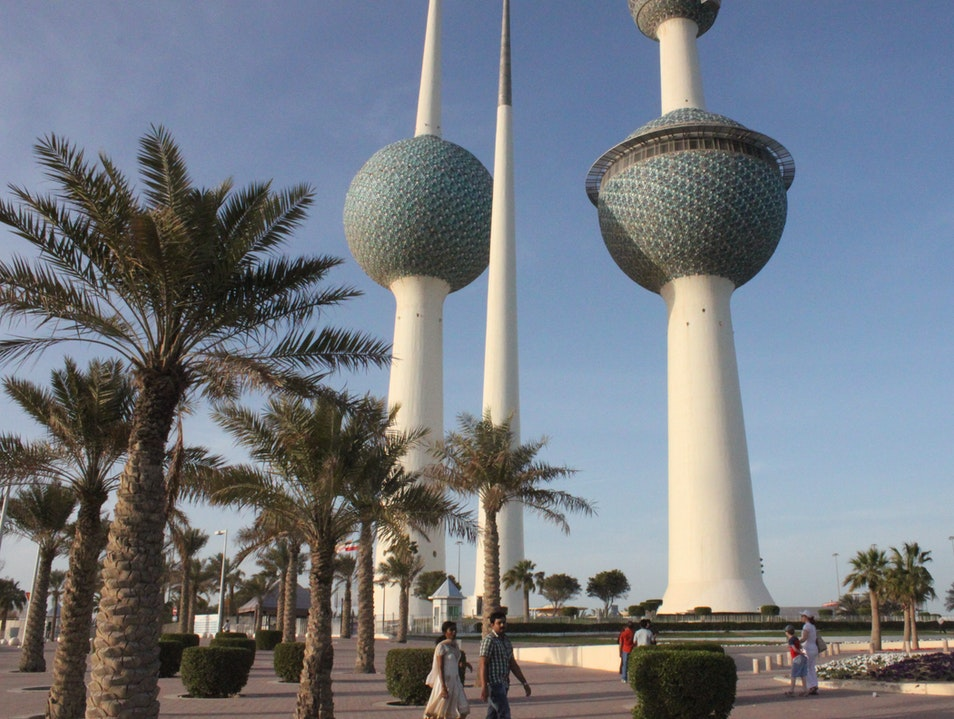 Kuwait Towers - Scandinavian Architecture in the Middle East Kuwait City  Kuwait