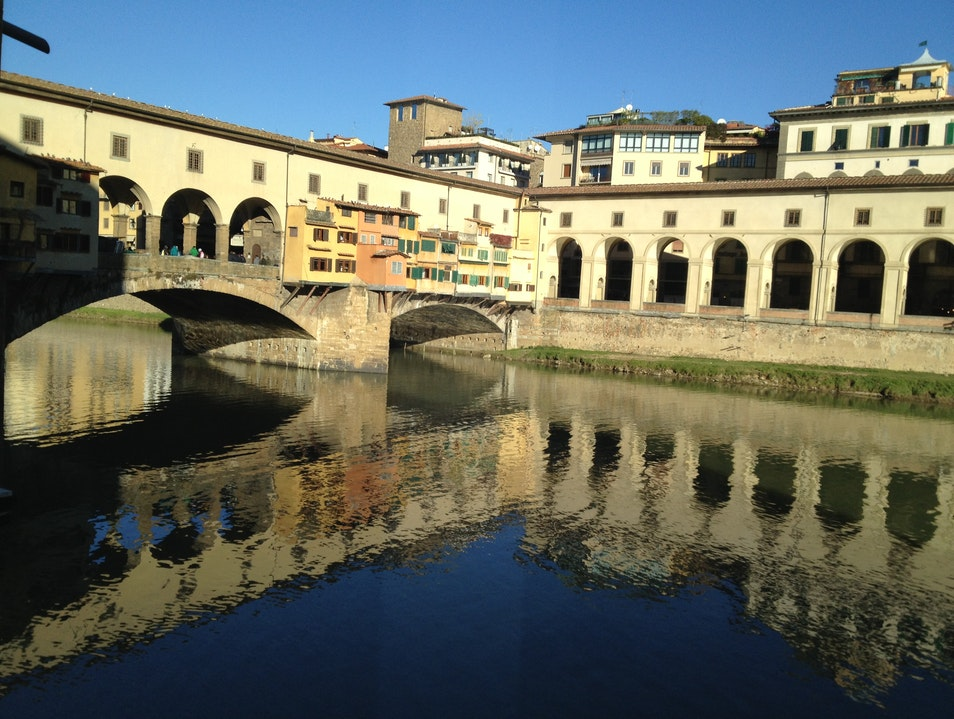 Aperitivo with a golden view Florence  Italy