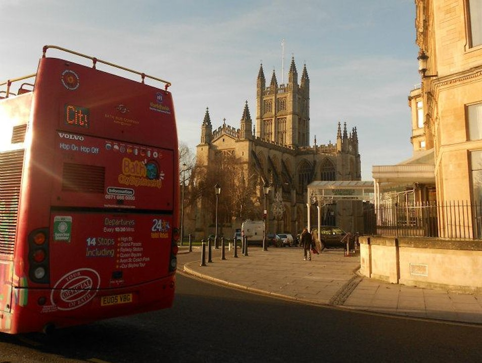 Double Deckers & Cathedrals Bath  United Kingdom