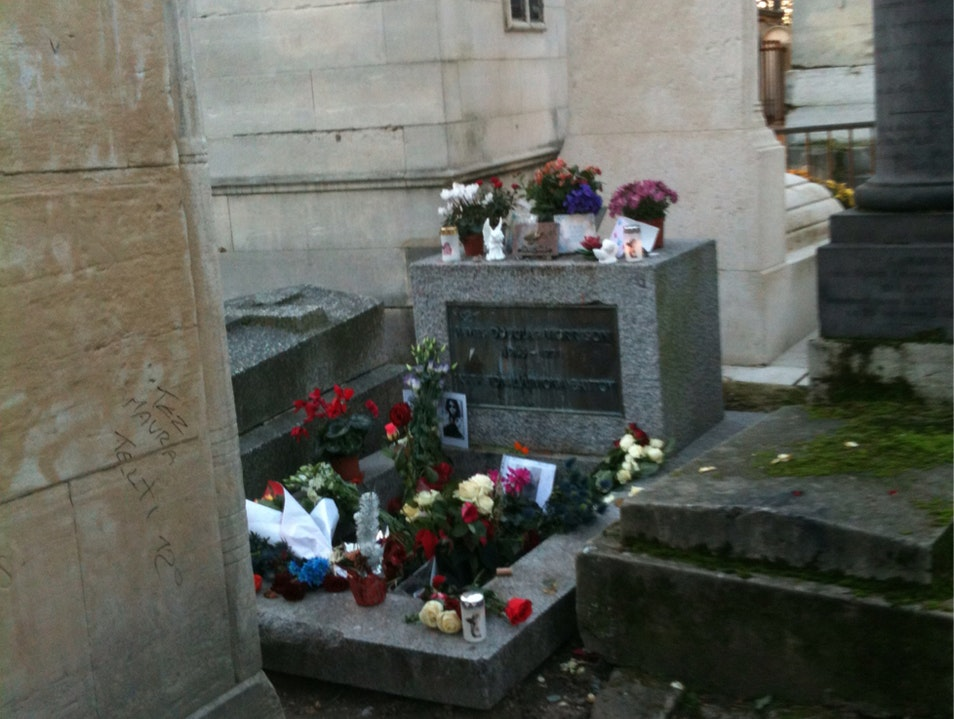 The Amazing Pere Lachaise Cemetery  Paris  France