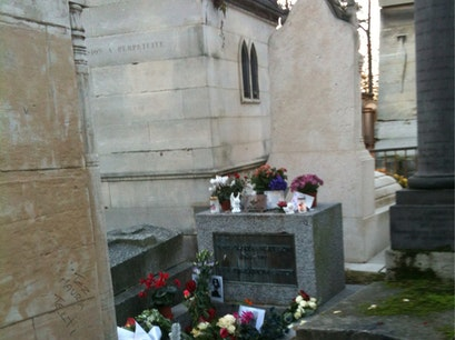 Tombe de Jim Morrison Paris  France