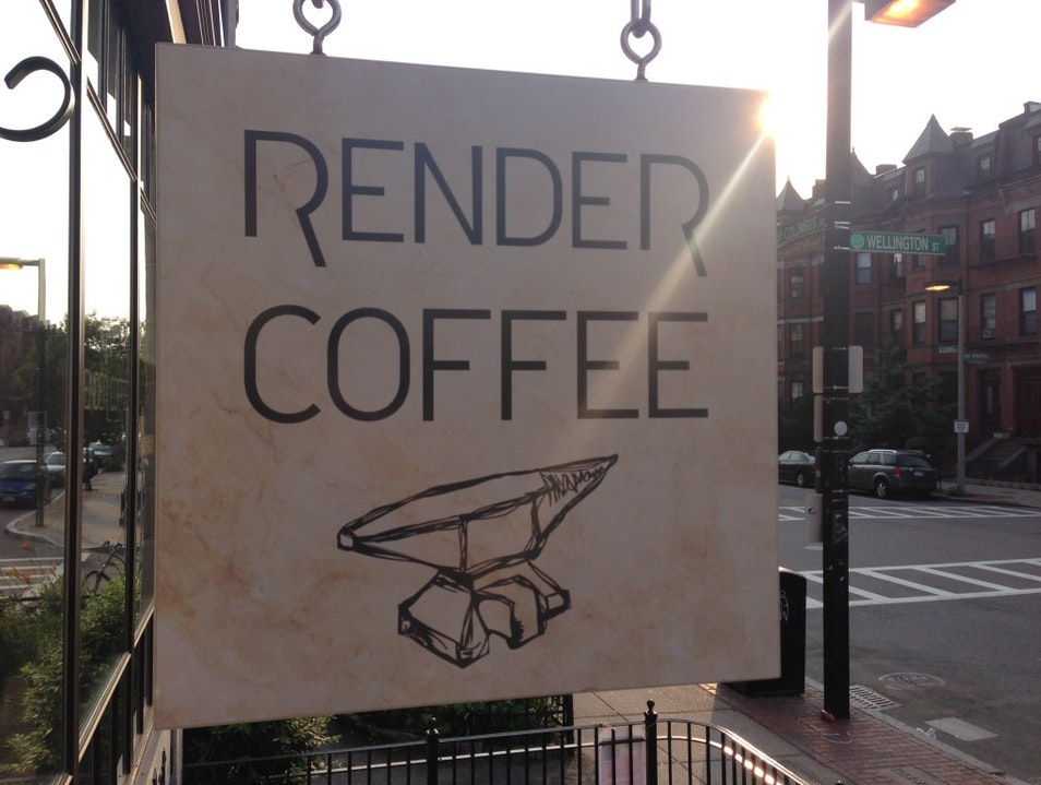 Coffee, Well Rendered Boston Massachusetts United States