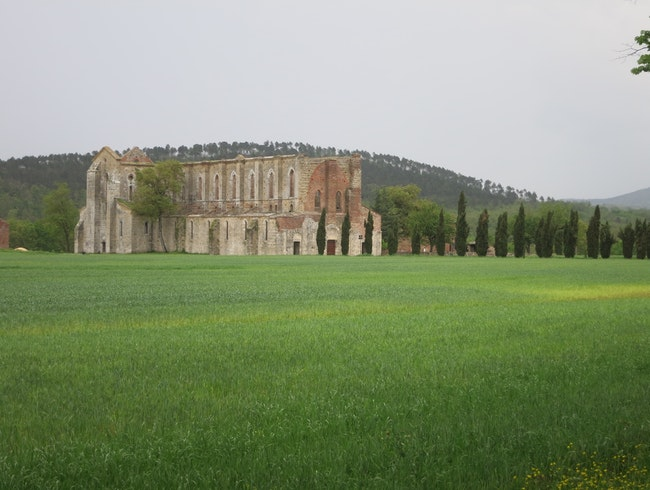 Medieval Ruins in Tuscany