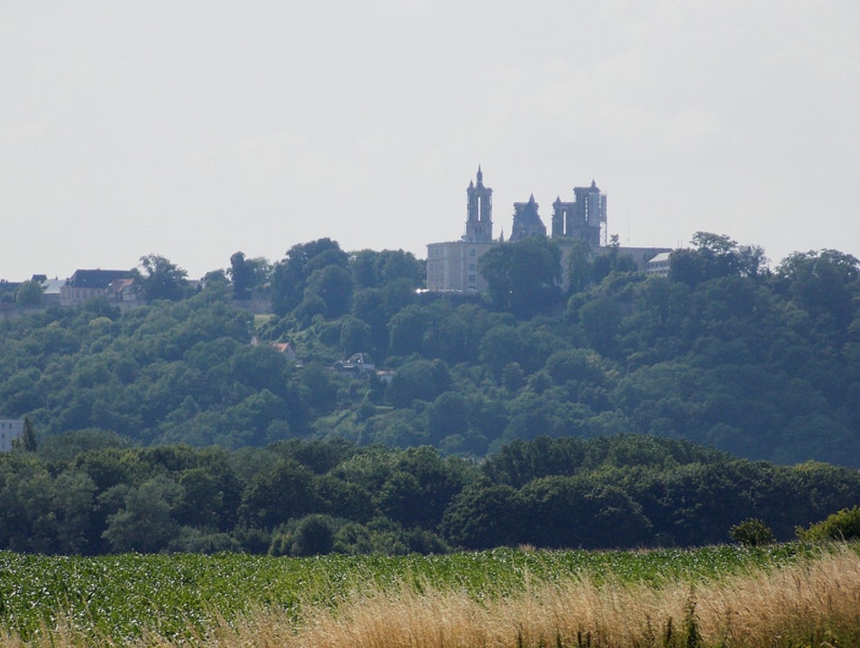 Heading to Laon Laon  France
