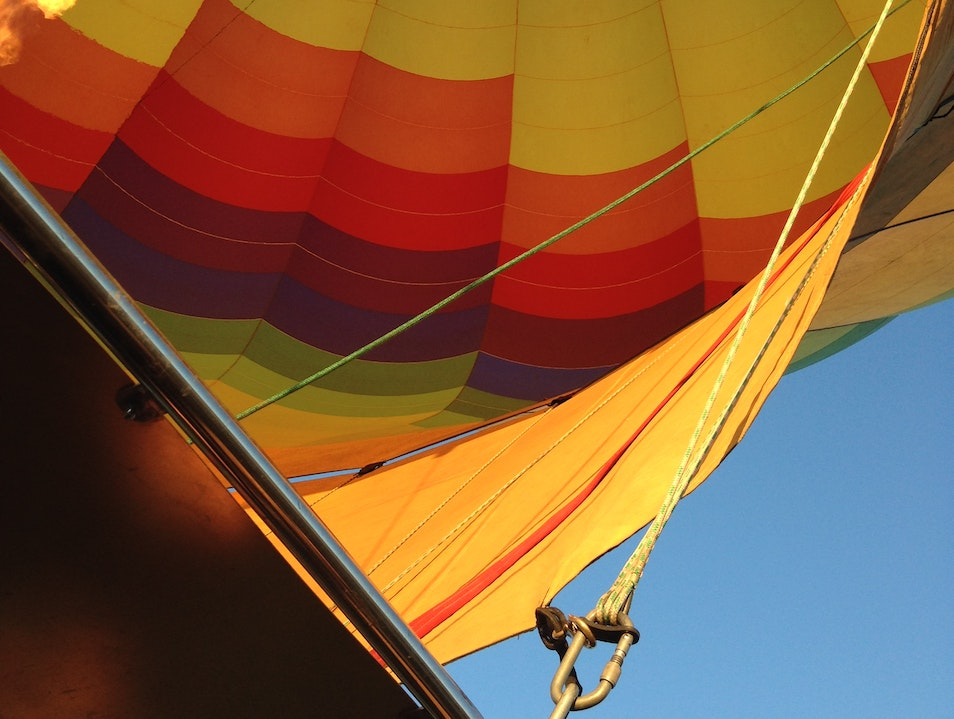 Ballooning Like a Parisian in Napa Napa California United States