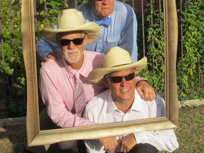 Framed: 3 Bros' & a Wedding