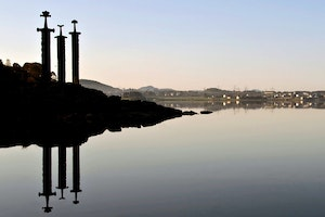 "Swords in the Rock (""Sverd i Fjell"")"
