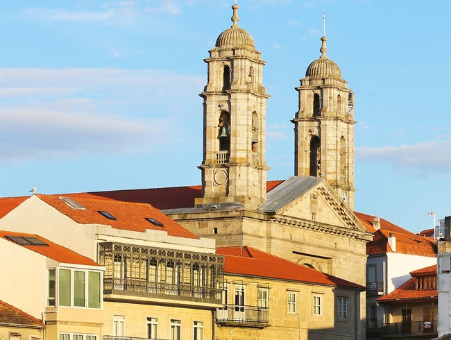 Cathedral of Santa María de Vigo and the Old Town