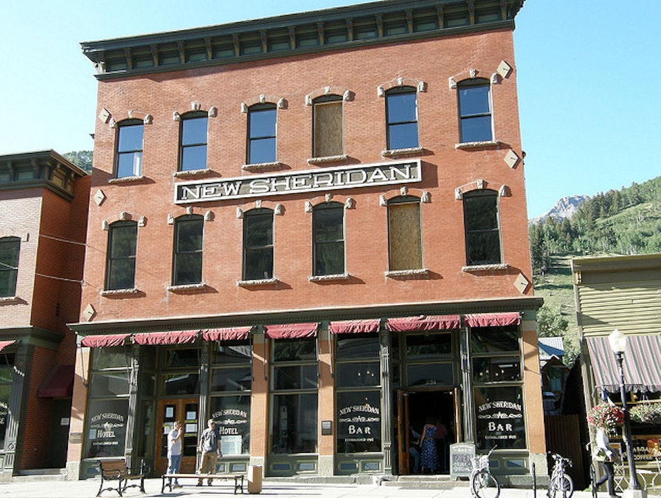 New Sheridan Hotel Telluride Colorado United States