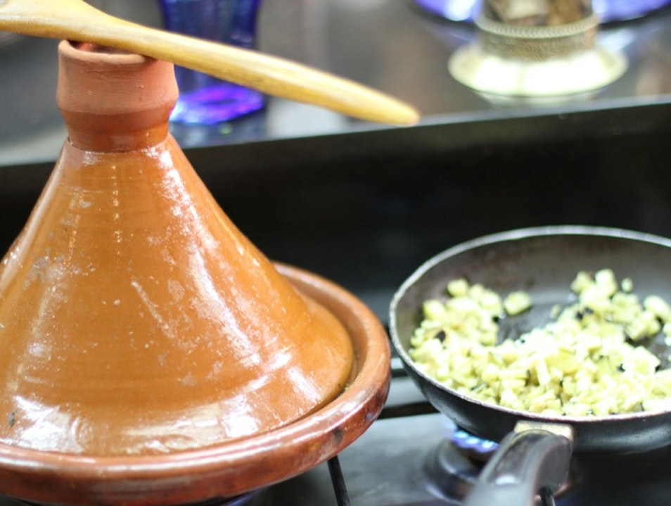 Cook your way around a Moroccan kitchen Marrakech  Morocco