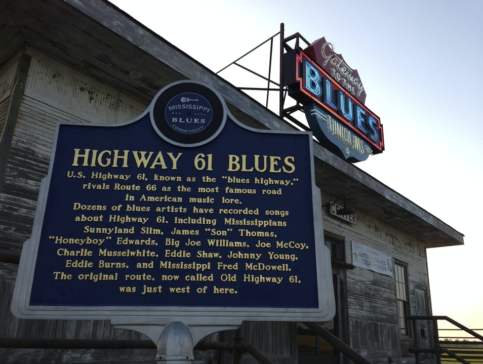 Highway 61 Blues Tunica Mississippi United States