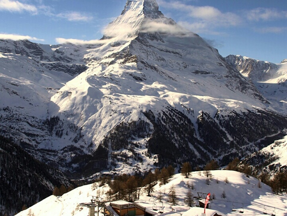 Breathtaking view of the Matterhorn Zermatt  Switzerland