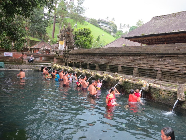 Bathe in Holy Waters at Tirta Empul Water Temple