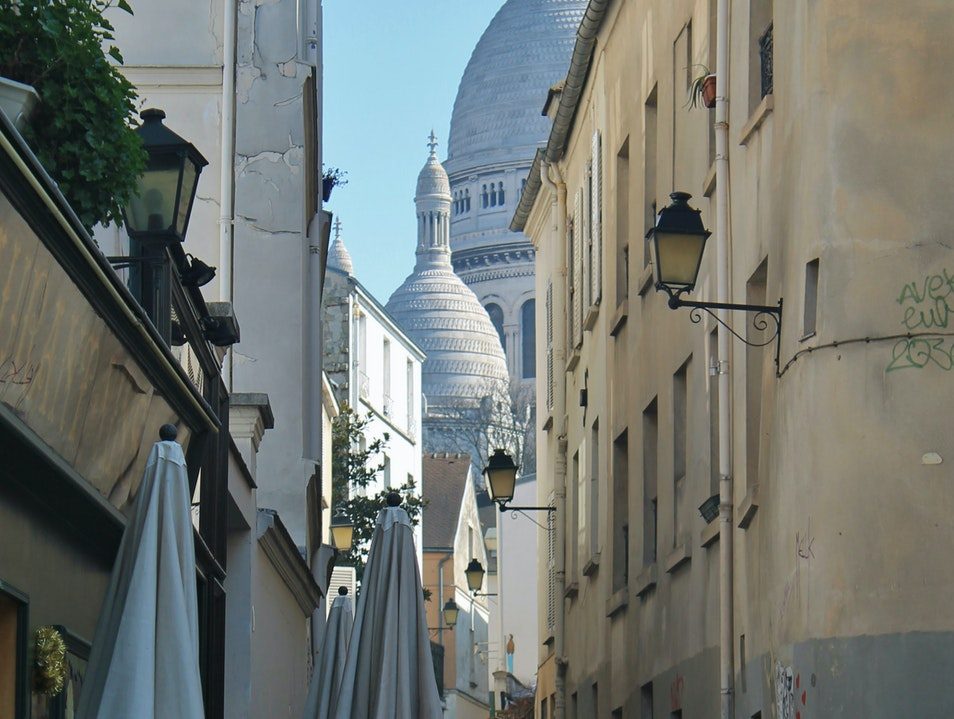 The Signature of Montmartre Paris  France