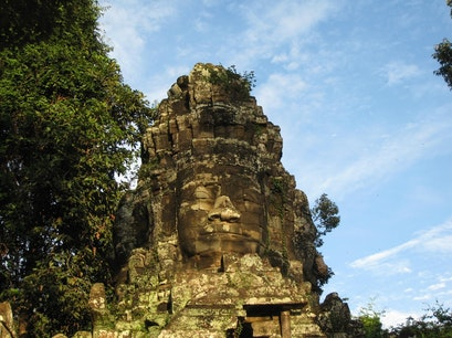 The Bayon Temple Siem Reap  Cambodia