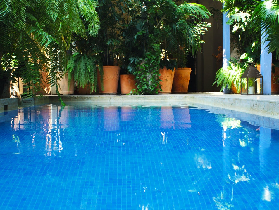 Main level pool Cartagena  Colombia