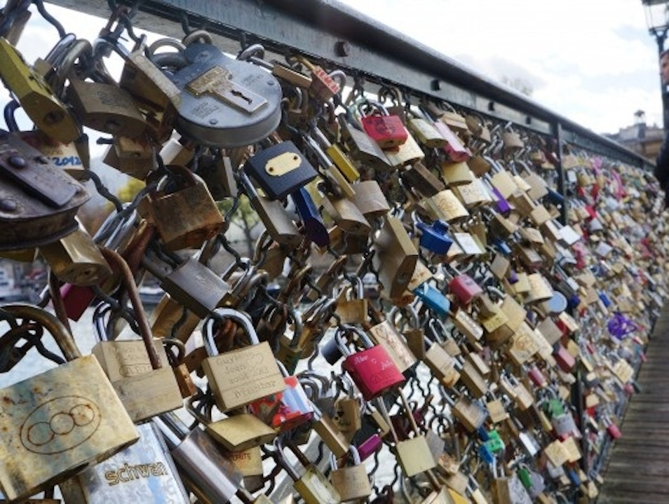 Pont des Arts - Locked in Love Paris  France