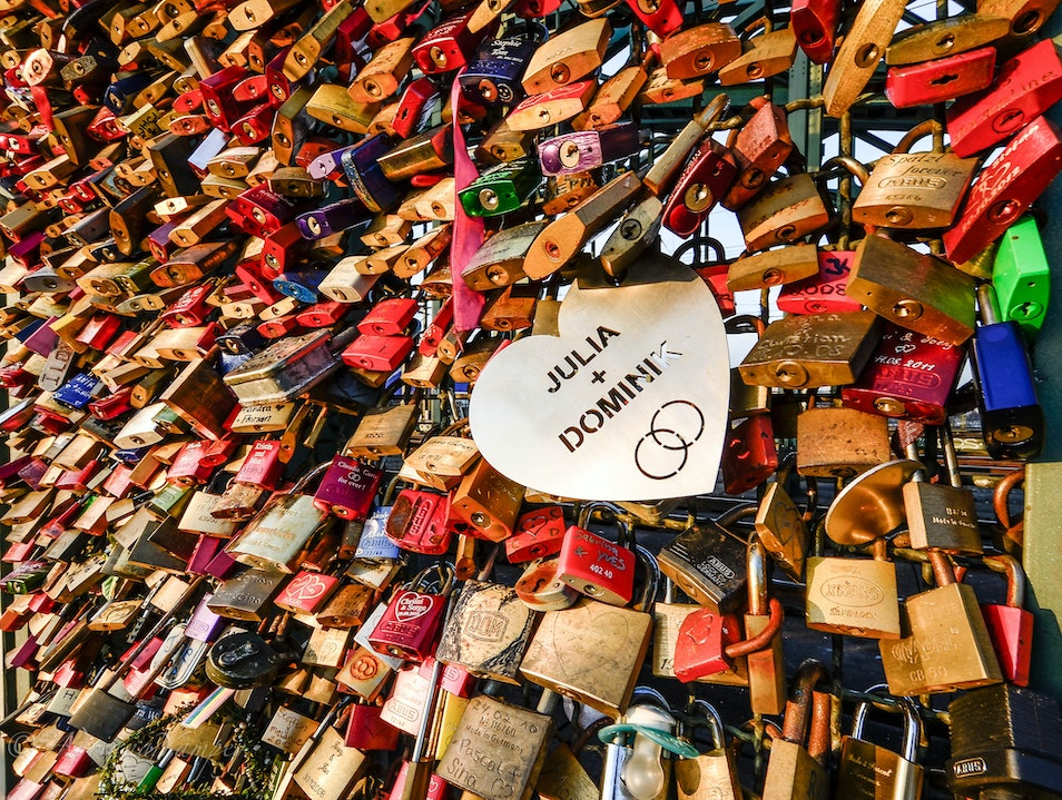 Love padlocks  Cologne  Germany