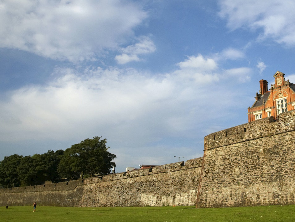 Derry City Walls Londonderry  United Kingdom
