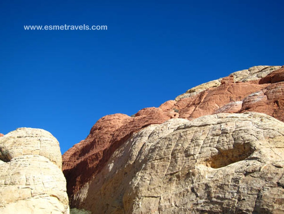 Hiking Red Rock Canyon Henderson Nevada United States