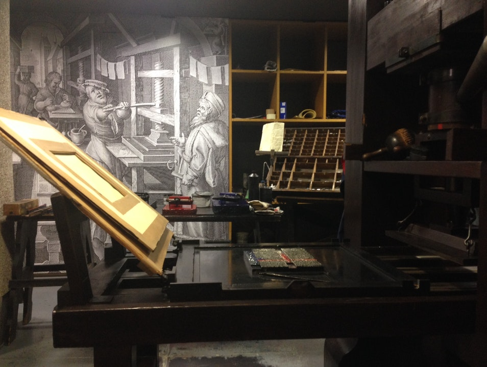 Pages and Typeface: Exploring the Printed Word in the Gutenberg Museum Mainz  Germany