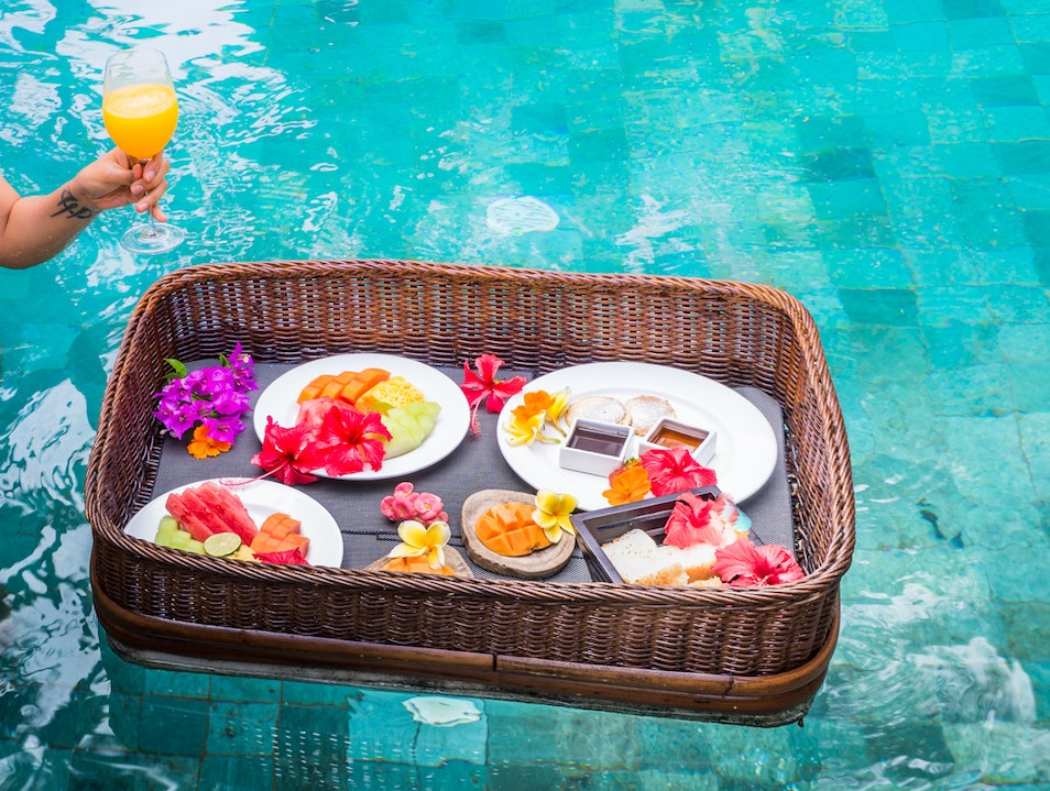 Floating breakfasts and a wellness retreat Ubud  Indonesia