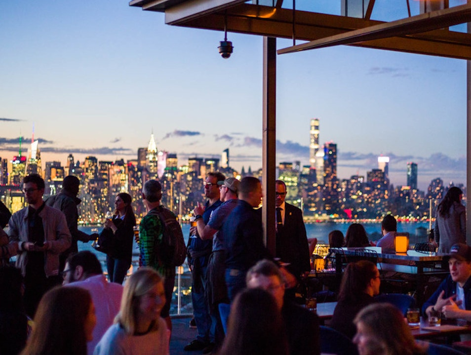 The William Vale's Rooftop Bar Offers Small Plates & Big Views New York New York United States