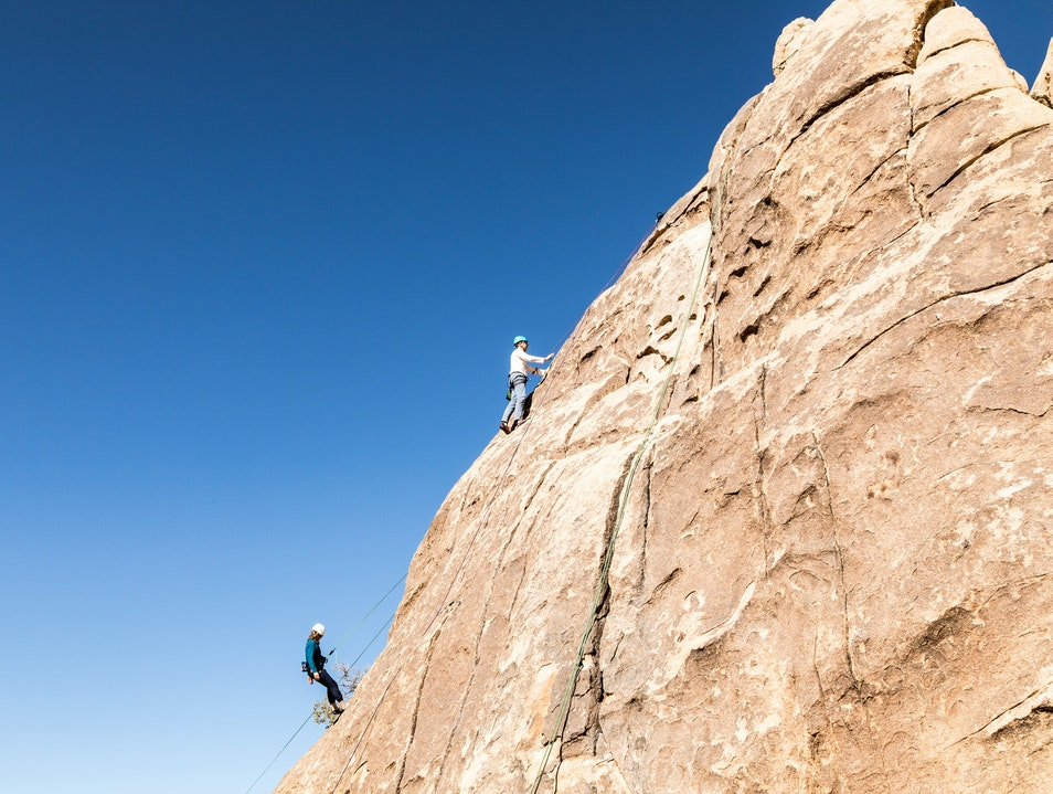 Cliffhanger Guides Joshua Tree California United States