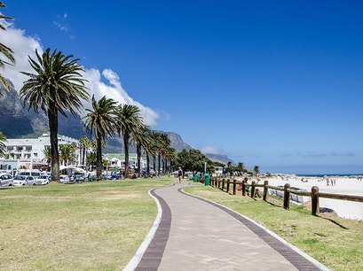 Sea Point Promenade Cape Town  South Africa