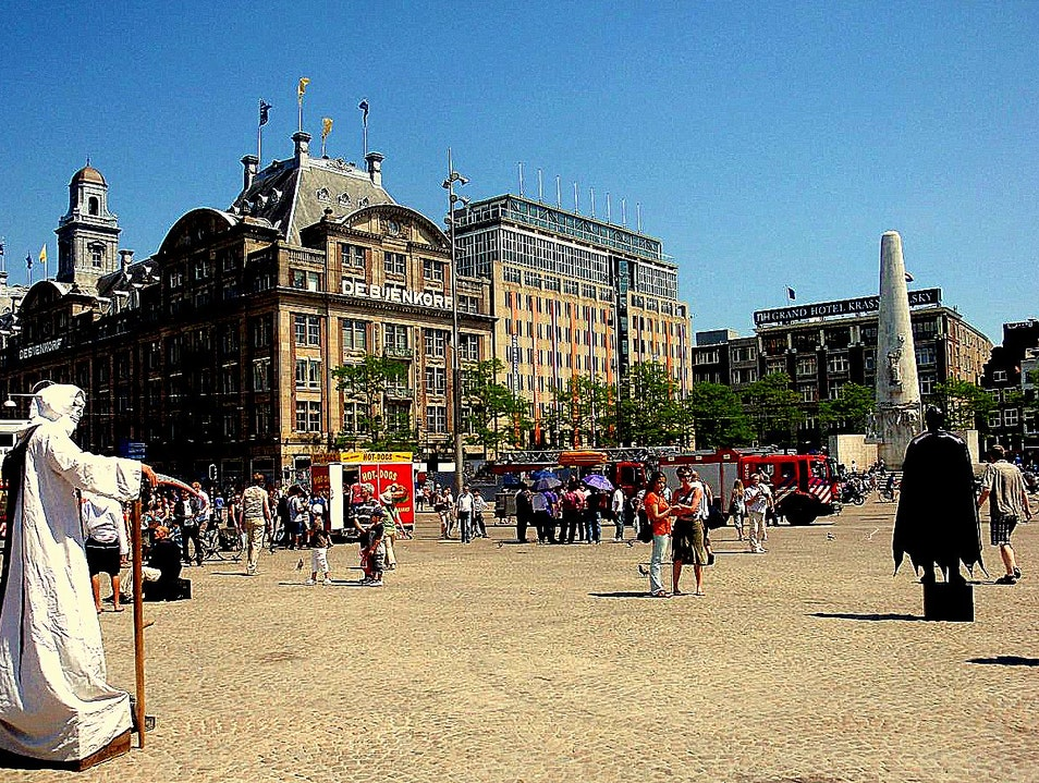Dam Square: Amsterdam's Beating Heart Amsterdam  The Netherlands