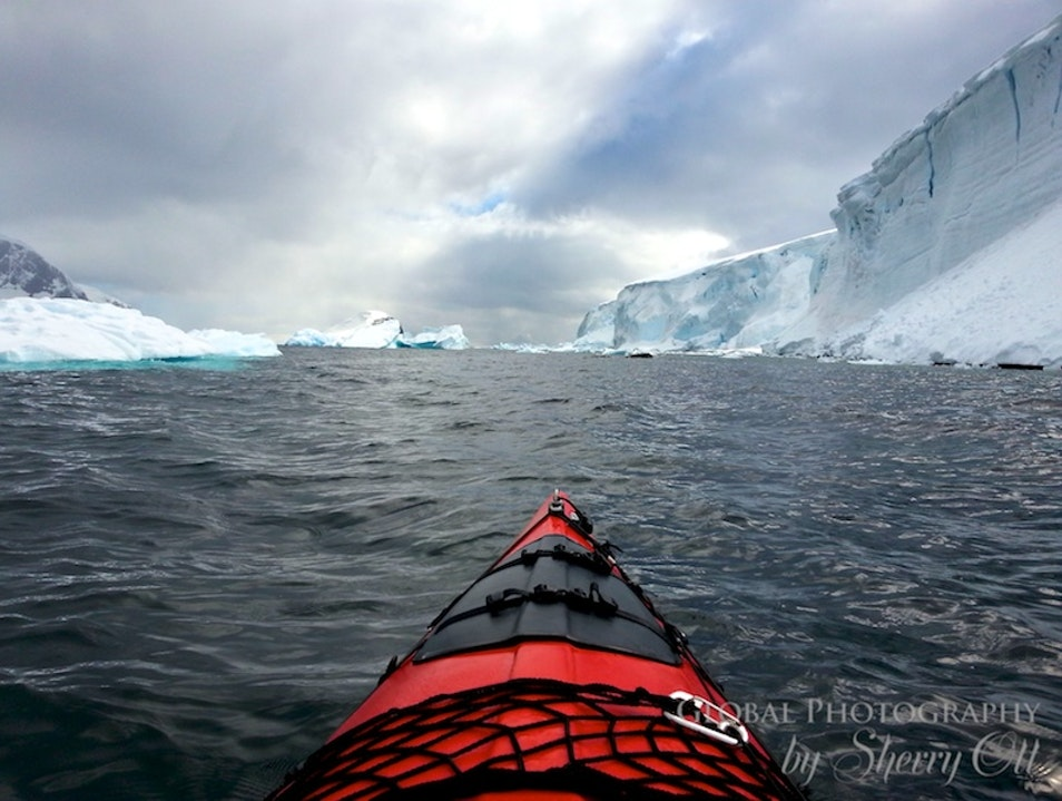Kayak at the Bottom of the World