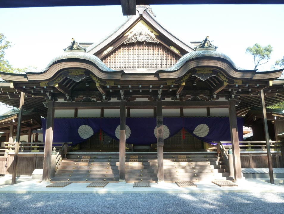 Japan's Shinto Harmony: Ise Grand Shrine Ise  Japan