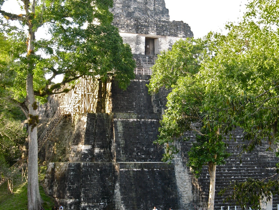 Temple of the Masks in Tikal Tikal  Guatemala