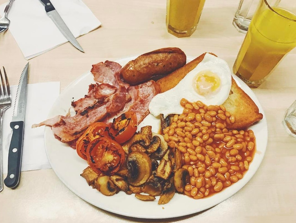 Greasy English Breakie London  United Kingdom