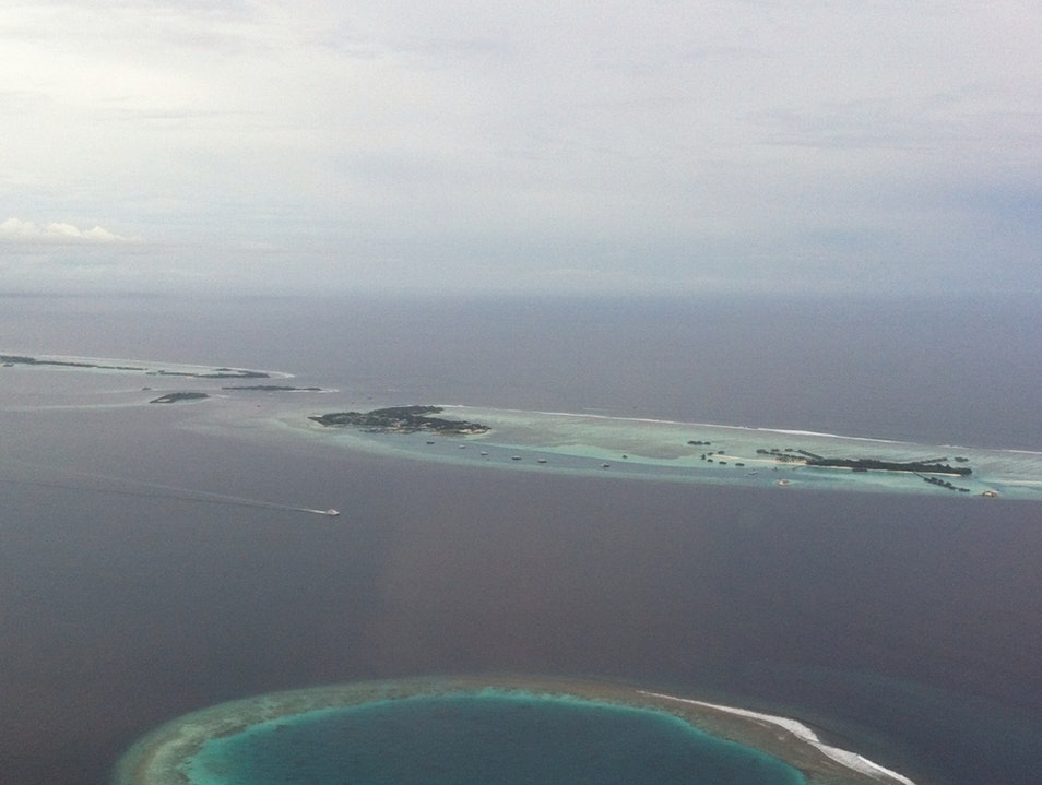 Up In The Maldivian Air