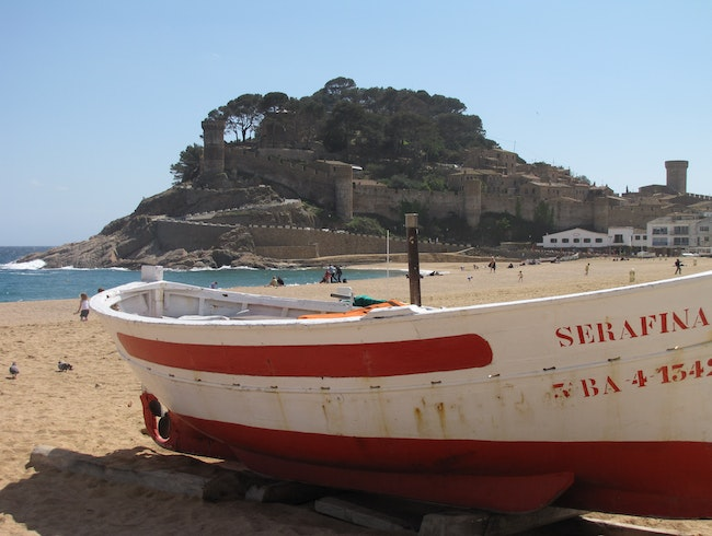 Just another shot of Tossa De Mar....
