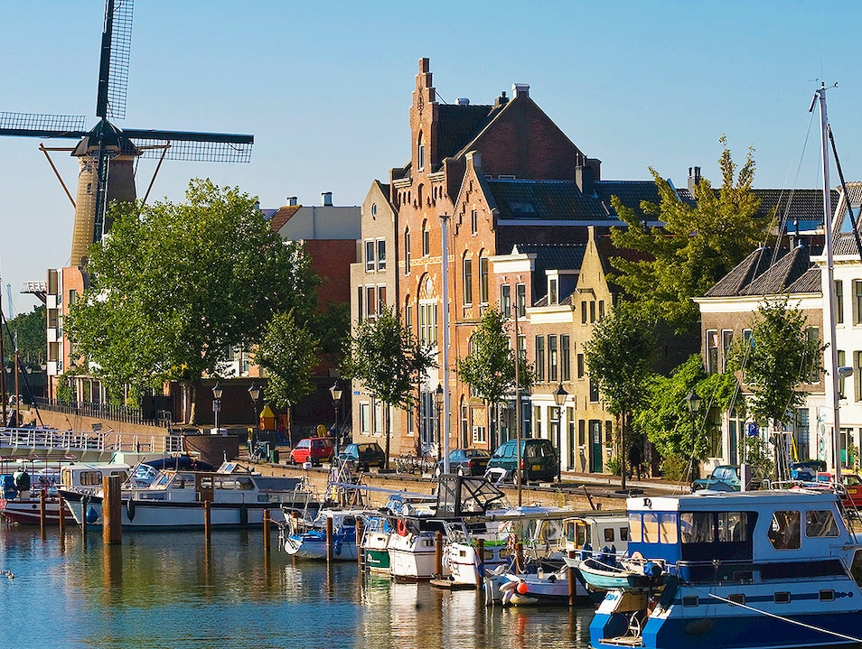 Delfshaven Rotterdam  The Netherlands
