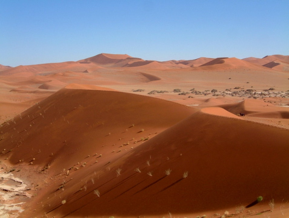 On Top of the World: Sossusvlei Dunes, Namibia Karas  Namibia