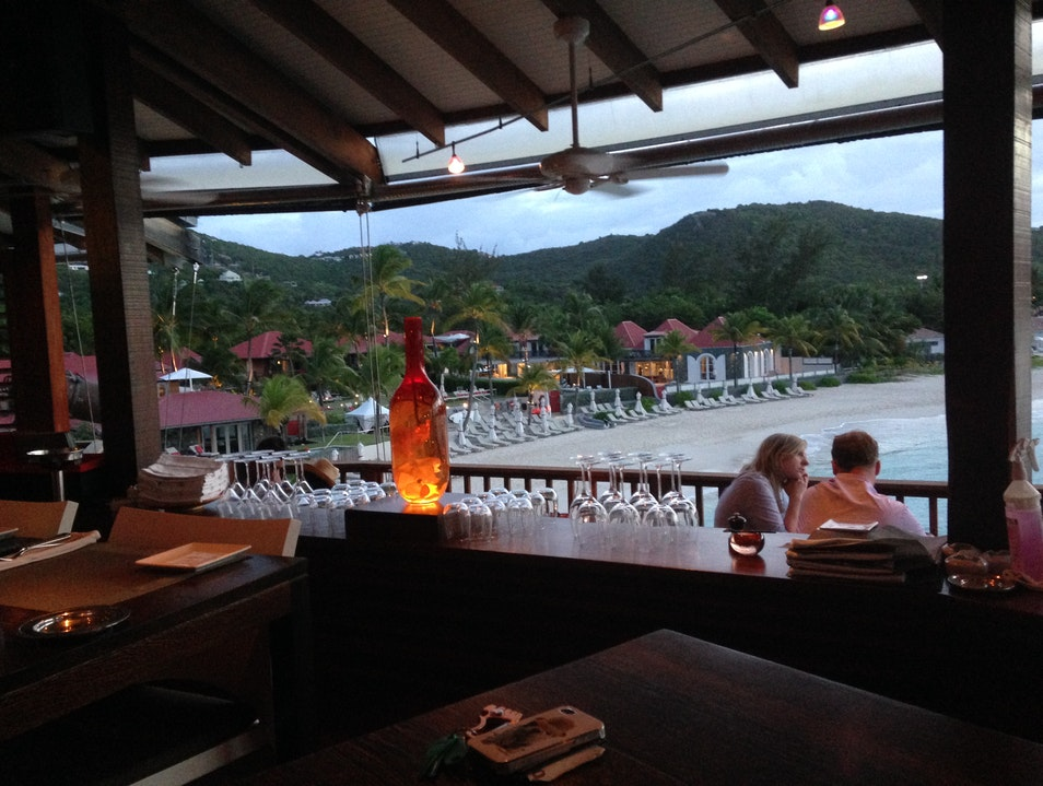 Romantic Sunset Drinks at the Eden Rock Saint Barthélemy  Saint Barthélemy