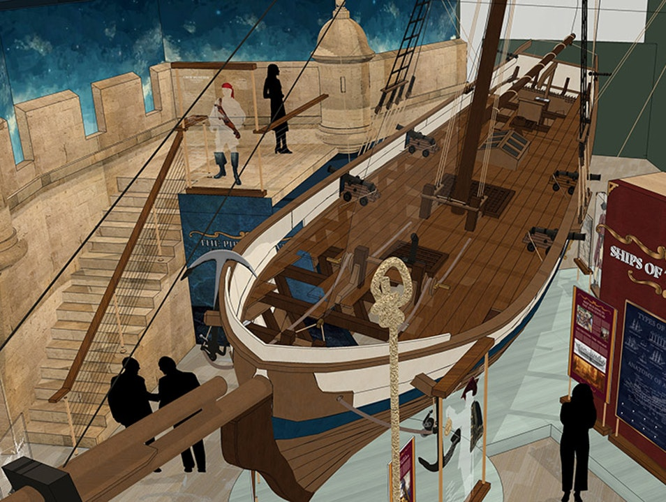 Ahoy Matey! Set Sail with Pirates at the Tampa Bay History Center.  Tampa Florida United States