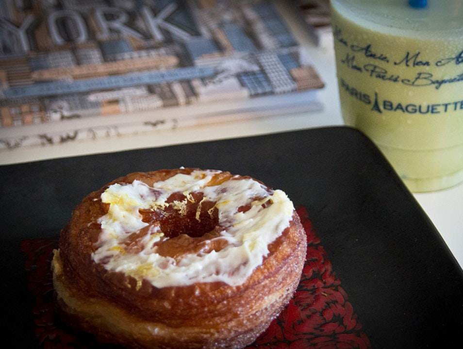 A Go-To Stop for French Pastries in Korea Town New York New York United States