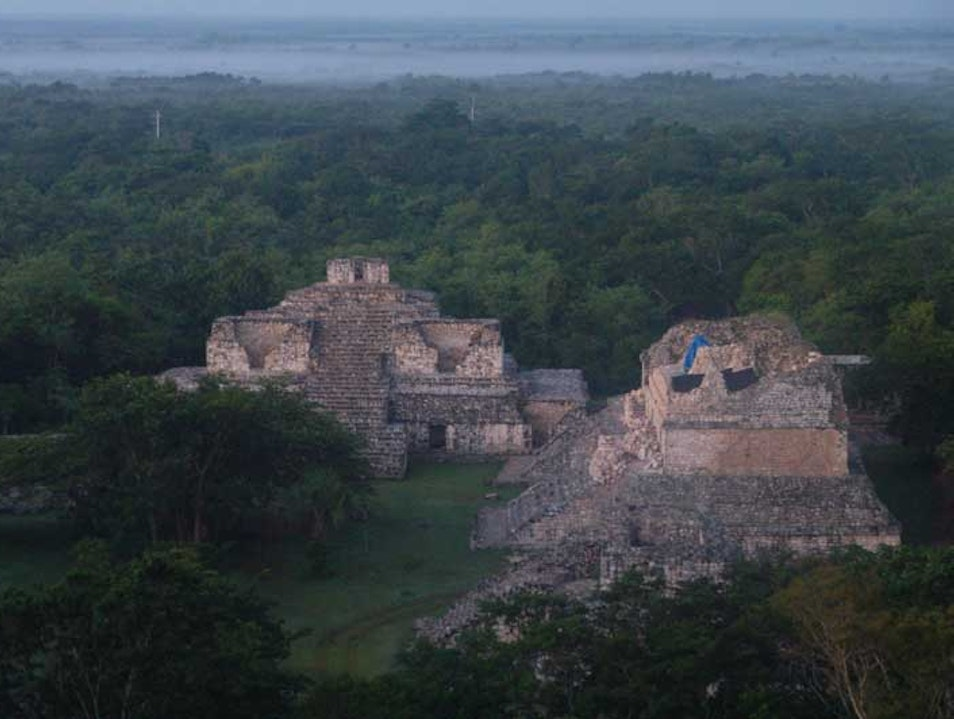 The hidden and unknown pyramids: Ek' Balam Sibischen  Mexico